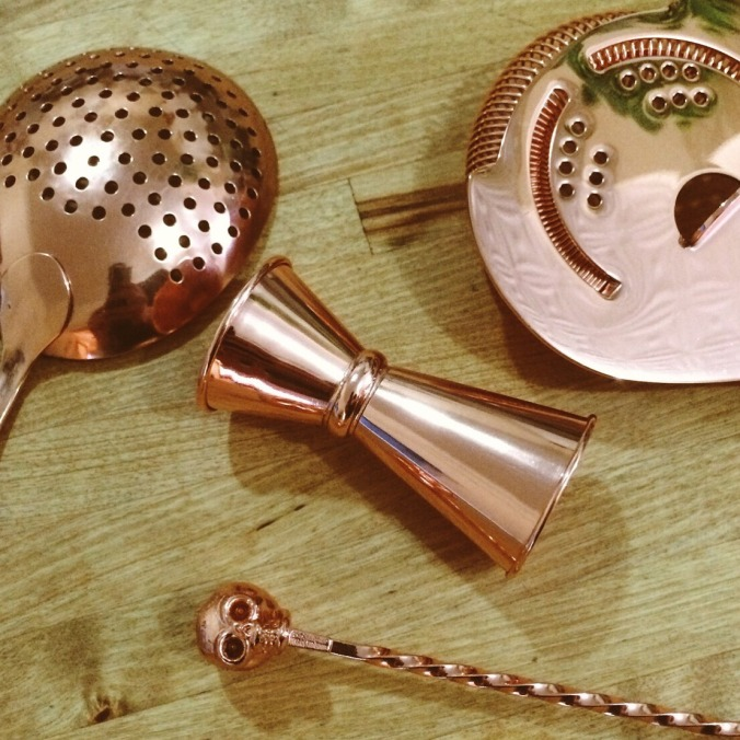 Cocktail Kingdom Bronze Tools