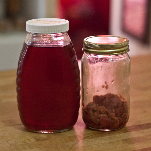 Homemade Raspberry Liqueur | Home Bar Girl