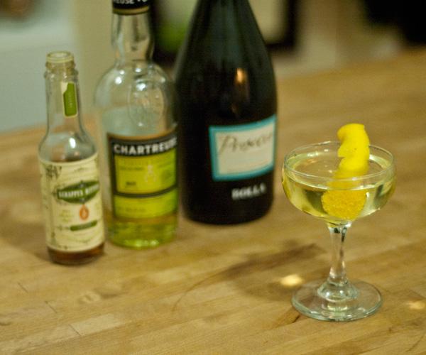 Chartreuse-Jaune-Prosecco