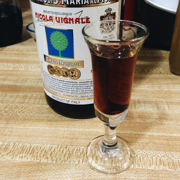 Santa Maria Cordial Glass