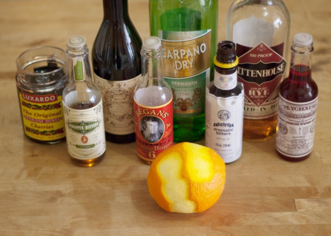 Manhattan-Ingredients