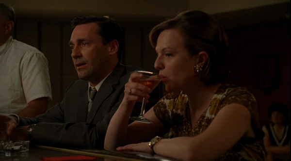 Peggy Drinks a Manhattan