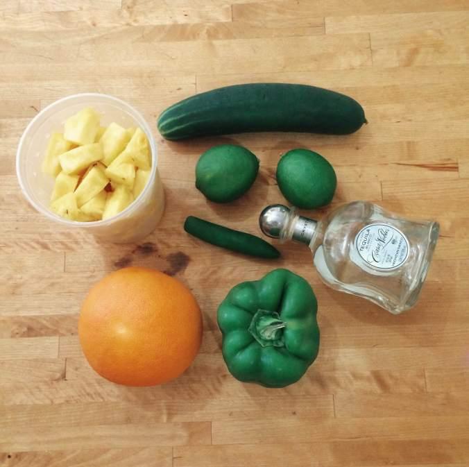 Cinco de Mayo fruit & veg