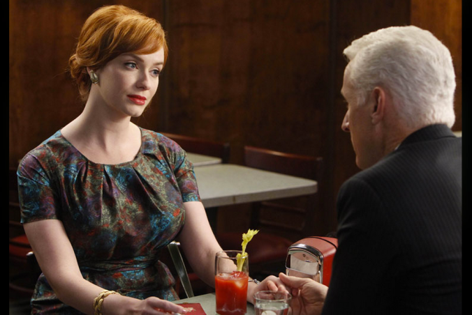 Mad Men Joan Roger Bloody Mary