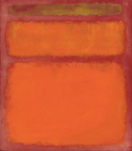 Rothko orange red yellow