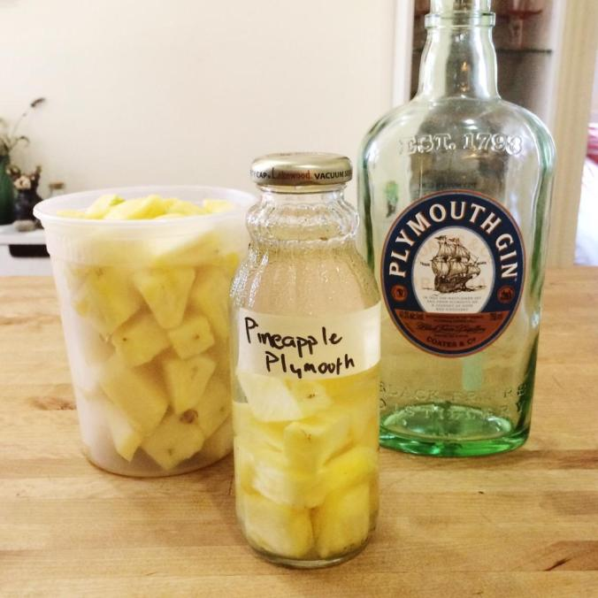 Pineapple Plymouth Gin 2