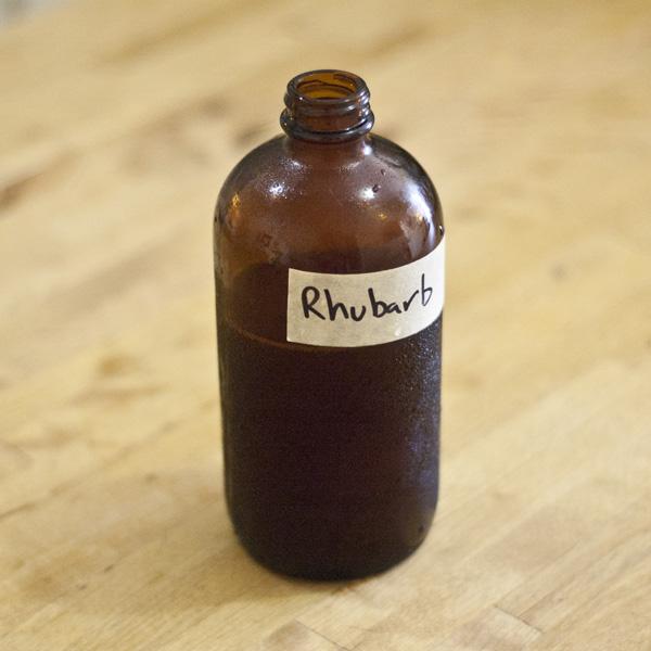 Rhubarb Syrup 4