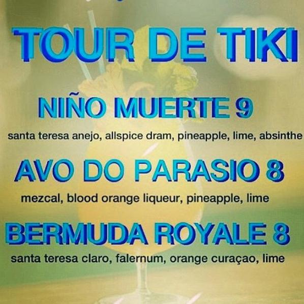 Tour de Tiki Gladys